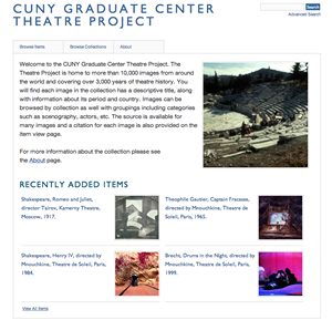 CUNY Graduate Center Theatre Project