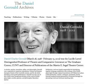 Daniel Gerould Archives