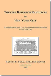 Theater Research Resources in NYC