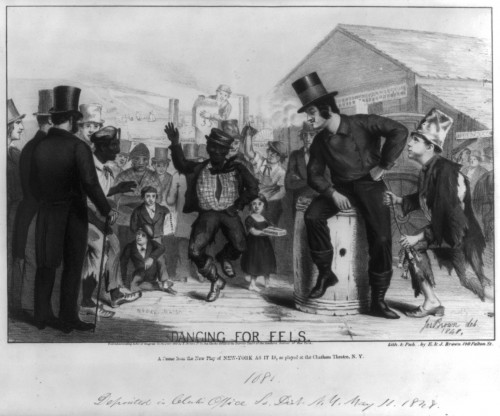 Dancing for Eels (1848)_courtesy of the Library of Congress