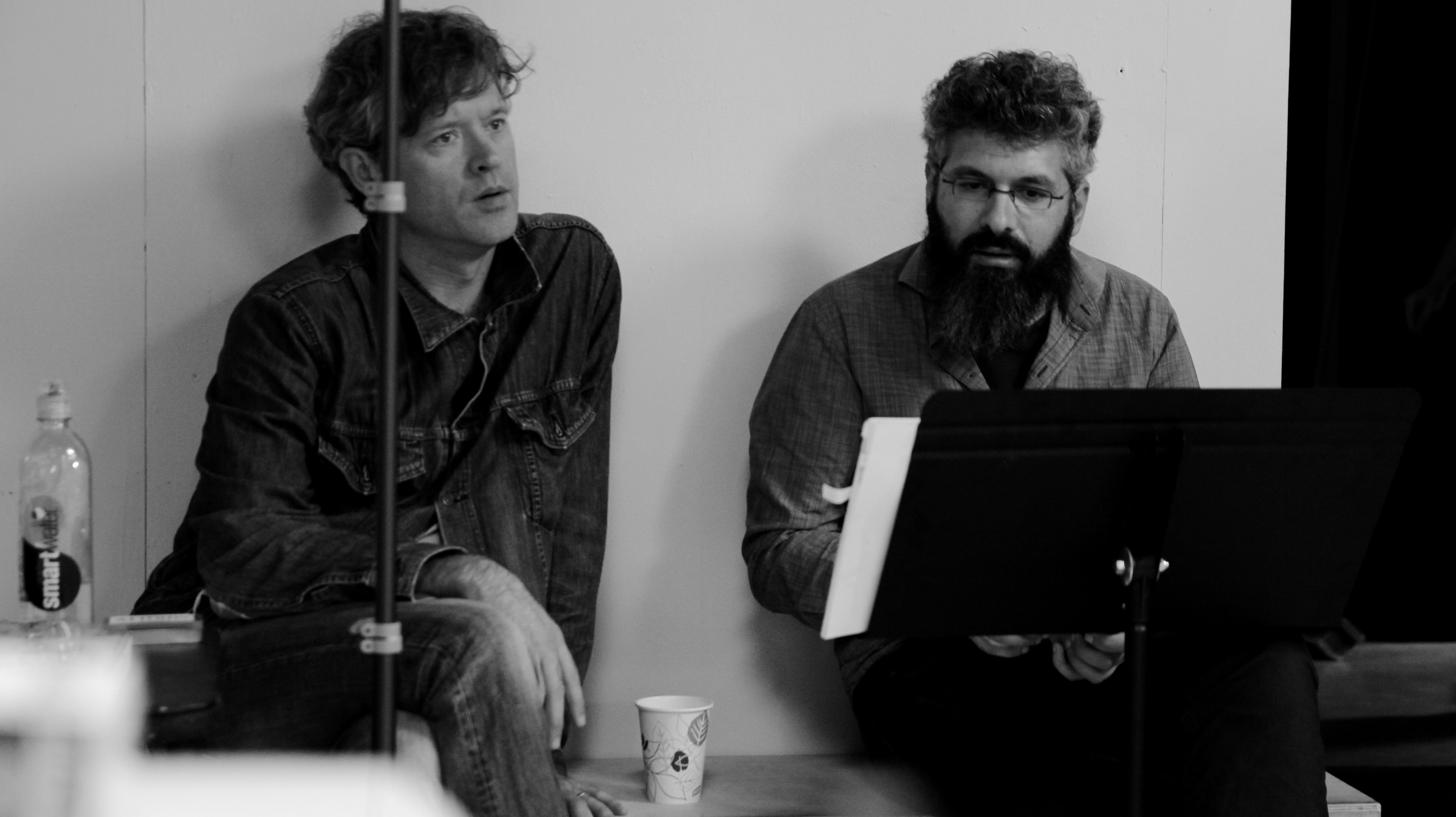 (L) Jay Scheib (R) Keeril Makan. Photo courtesy of the artists