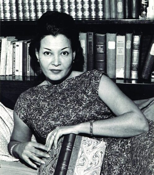 Marie Chauvet, Circa 1960. Photo courtesy of Anthony Phelps