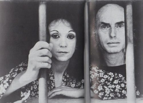 Judith Malina and Julian Beck, 1961. Photo Courtesy of The Living Theatre Archive