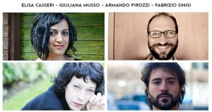 Italian Playwrights' headshots